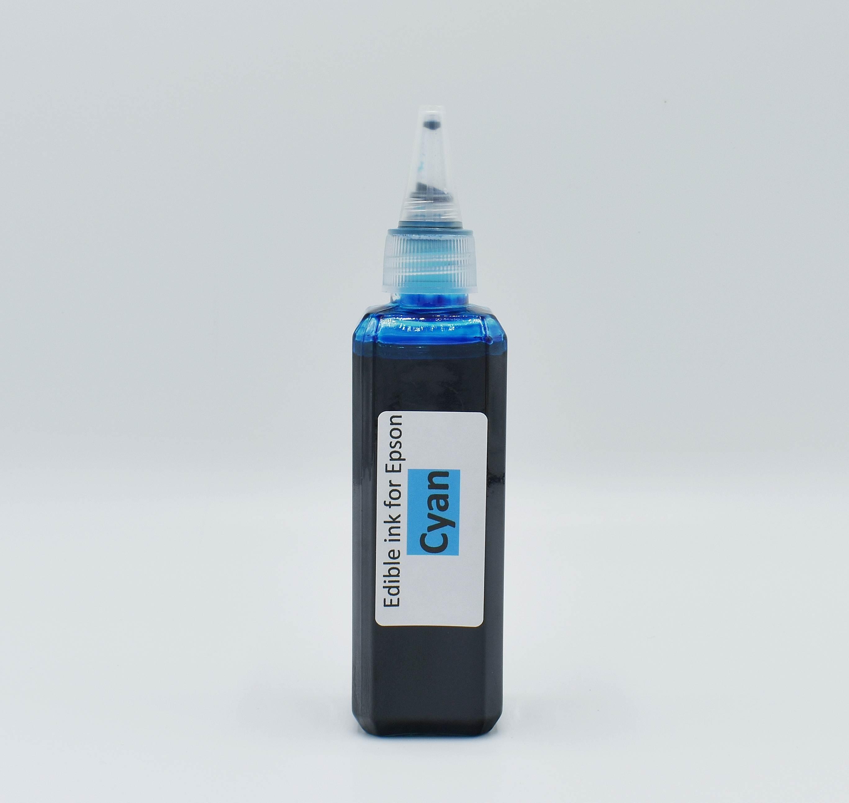 Edible ink for Epson (Cyan 100 ml.)