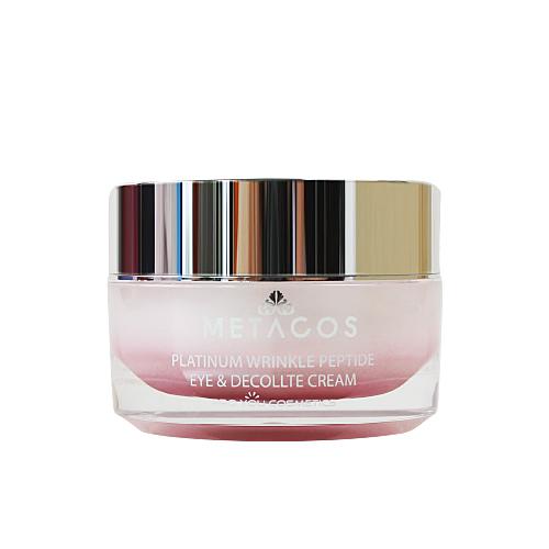 Proyou Metacos Platinum Wrinkle Peptide Eye & Decollate Cream 30g (ผลิตภัณฑ์ที่มีคุณสมบัติในการแก้ปัญหาริ้วรอยรอบดวงตาโดยเฉพาะ)