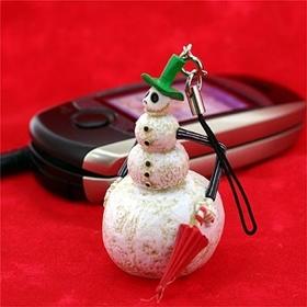 พวงกุญแจ Gothic Nightmare Before Christmas (Snowman Jack)