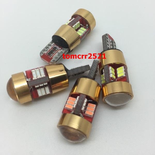 ไฟหรี่-ไฟเลี้ยว ขั่ว t10 canbus เลนส์โปรเจคเตอร์ smd 27 ดวง ชิป 4014
