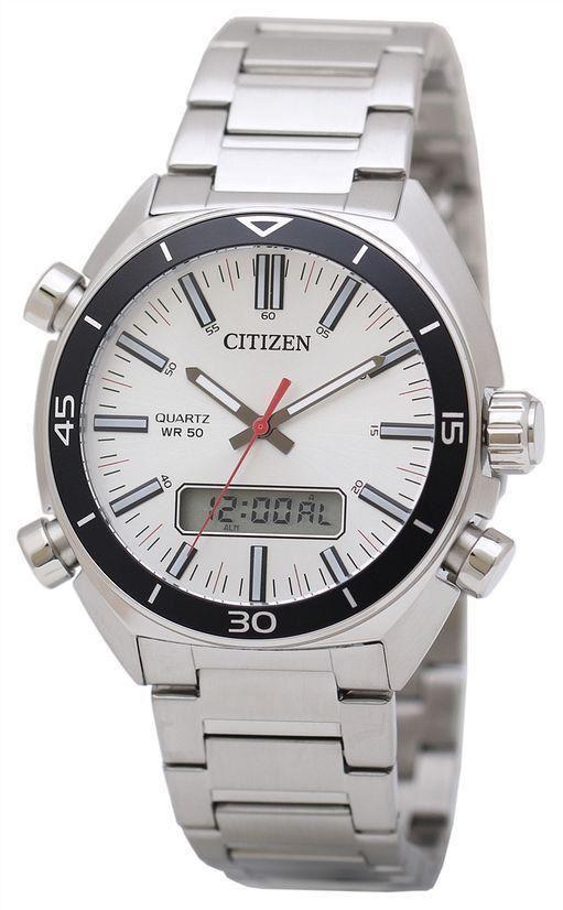 นาฬิกาชาย Citizen รุ่น JM5460-51A, Analog Digital Quartz Men's Watch