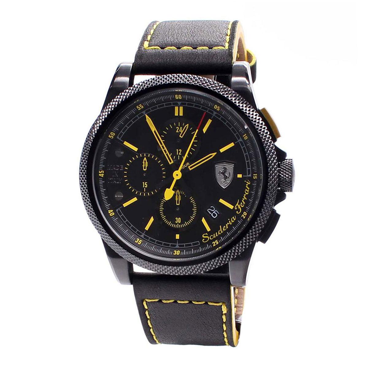 นาฬิกาผู้ชาย Ferrari รุ่น 0830274, Formula Italia