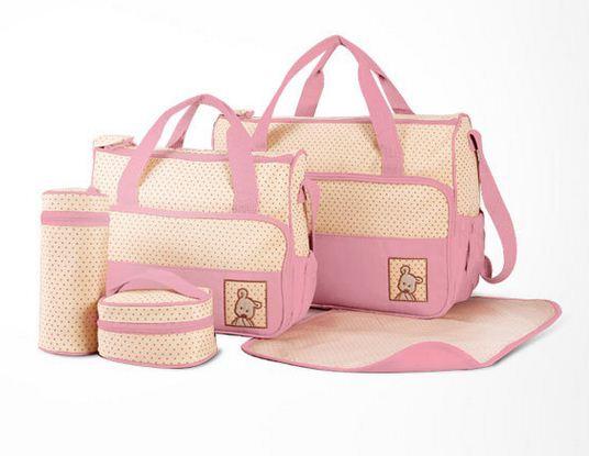 Baby mamy Mom Bag กระเป๋าคุณแม่เซ็ต 5 in 1