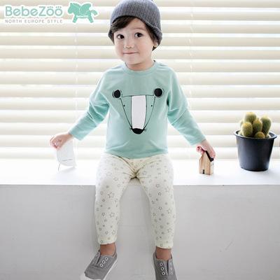 BZ201-เสื้อ+กางเกง 5 ตัว/แพค ไซส์ 90 100 100 110 110