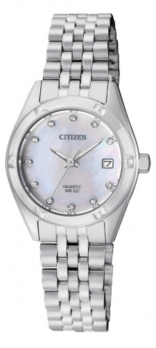 นาฬิกาผู้หญิง Citizen รุ่น EU6050-59D, Silver Tone