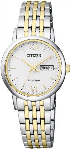 นาฬิกาผู้หญิง Citizen Eco-Drive รุ่น EW3254-87A, Sapphire Japan Women's Watch