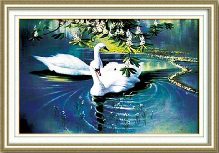 Swan Lake (พิมพ์ลาย)