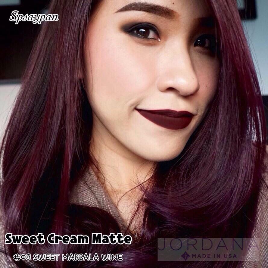 NEW Jordana Sweet Creme Matte Liquid Lipsticks Pt. 2   Lip Swatches - YouTube.