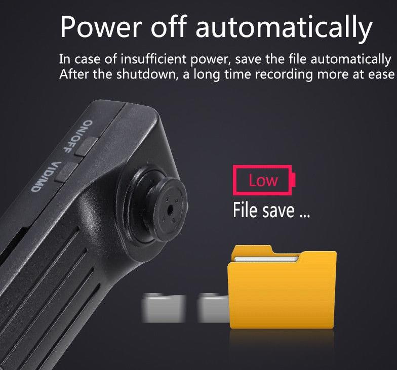 กล้องกระดุม Techware G10 1080P