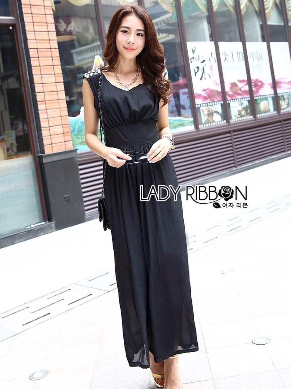 &#x1F380 Lady Ribbon's Made &#x1F380 Lady Erin Sweet Classy Embellished Maxi Dress