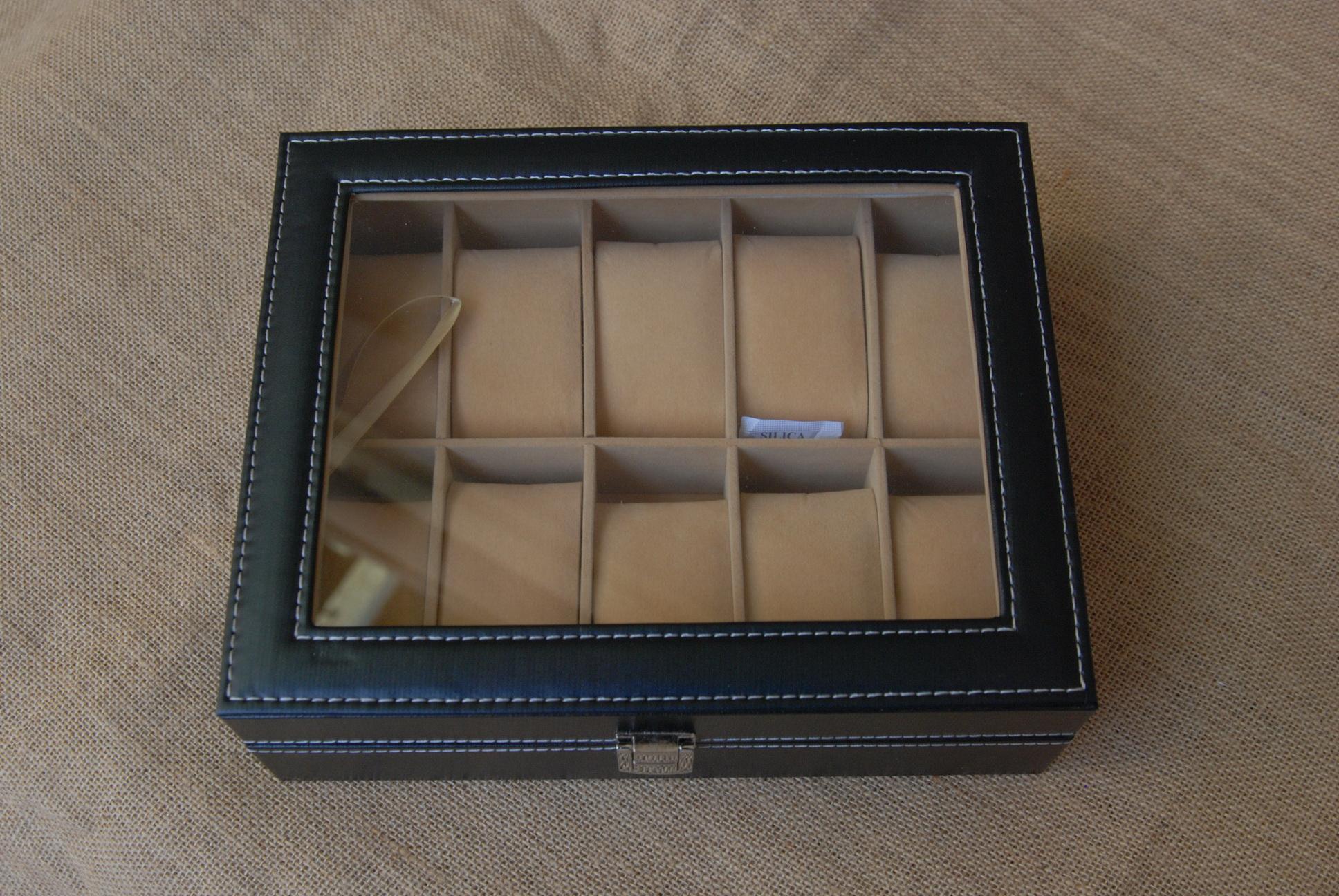 กล่องหนังเก็บนาฬิกา10 เรือน