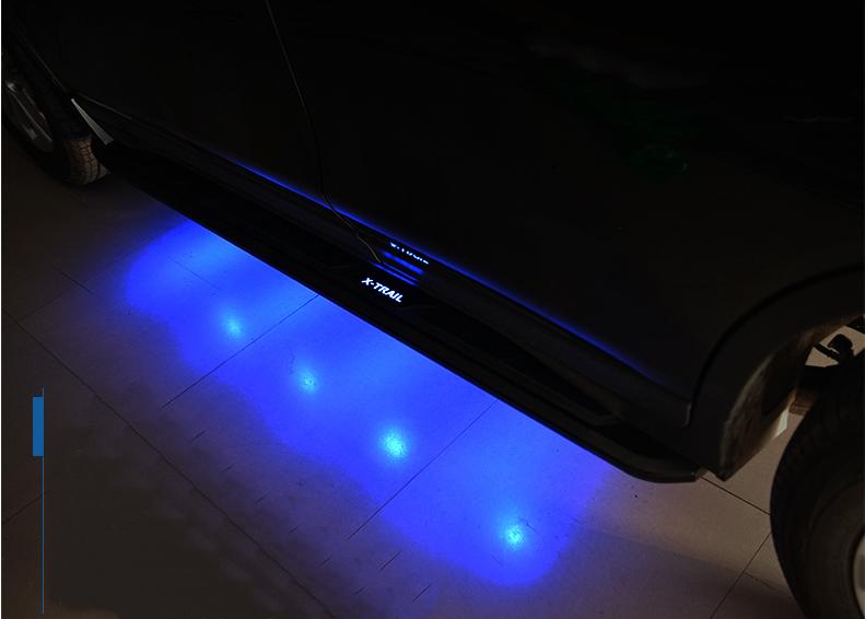 บันได X-TRAIL LED มีไฟส่องพื้น