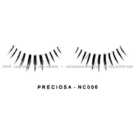 PRECIOSA EYELASH รุ่น NATURAL CLEAR (NC006)