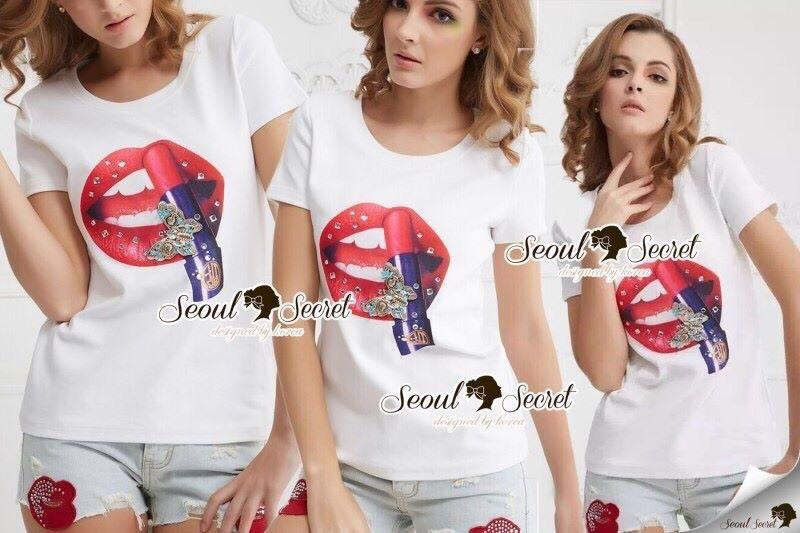 Seoul Secret Say's...Red Lip Chic Set