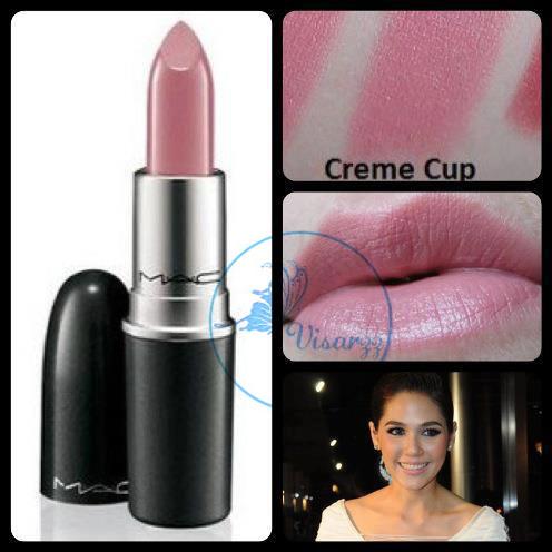 MAC Cremesheen Lipstick Creme Cup 3g (ขนาดปกติ) ลิปสติกสีชมพูนู้ดแสนสวยค่ะ