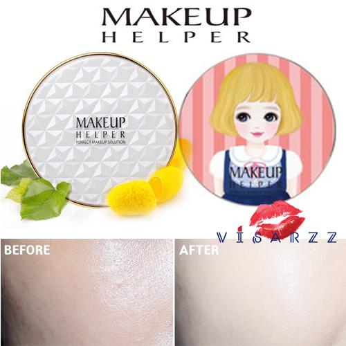 (#21 ตลับลาย Hello Rachel) Makeup Helper Double Cushion Calendula Blossom SPF50+ /PA+++ คูชั่น แป้งน้ำลุ๊คฉ่ำสาวเกาหลีค่ะ ไม่เหนอะ ไม่มันไม่เยิ้ม ทาปุ๊ปแห้งปั๊ป โดยไม่ต้องเติมแป้ง ปกปิดได้อย่างดีแม้แผลเป็นที่ชัดมากๆ ไม่อุดตัน มาพร้อมกันแดด 50เท่า ตลับใหญ่