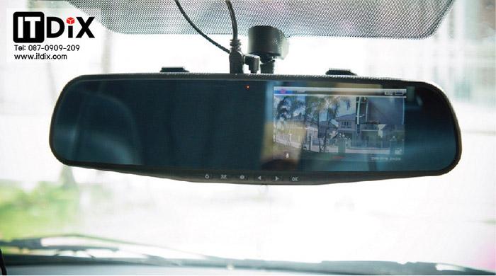 ขายกล้องติดรถยนต์หน้าหลัง S500