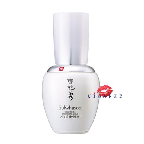 (ลดพิเศษ 50% Mfg 04/13) Sulwhasoo Snowise EX Whitening Serum 50mL เซรั่มเพิ่มความขาวกระจ่างใสด้วยสารสกัดจากพืชที่เป็นแอนติออกซิแดนท์และลดการอักเสบจะช่วยลดการกระตุ้นการผลิตเม็ดสีได้ ส่วนผสมของ Acetyl Glucosamine กับ สารสกัดจากโสม และ Broussonetia Kazinoki