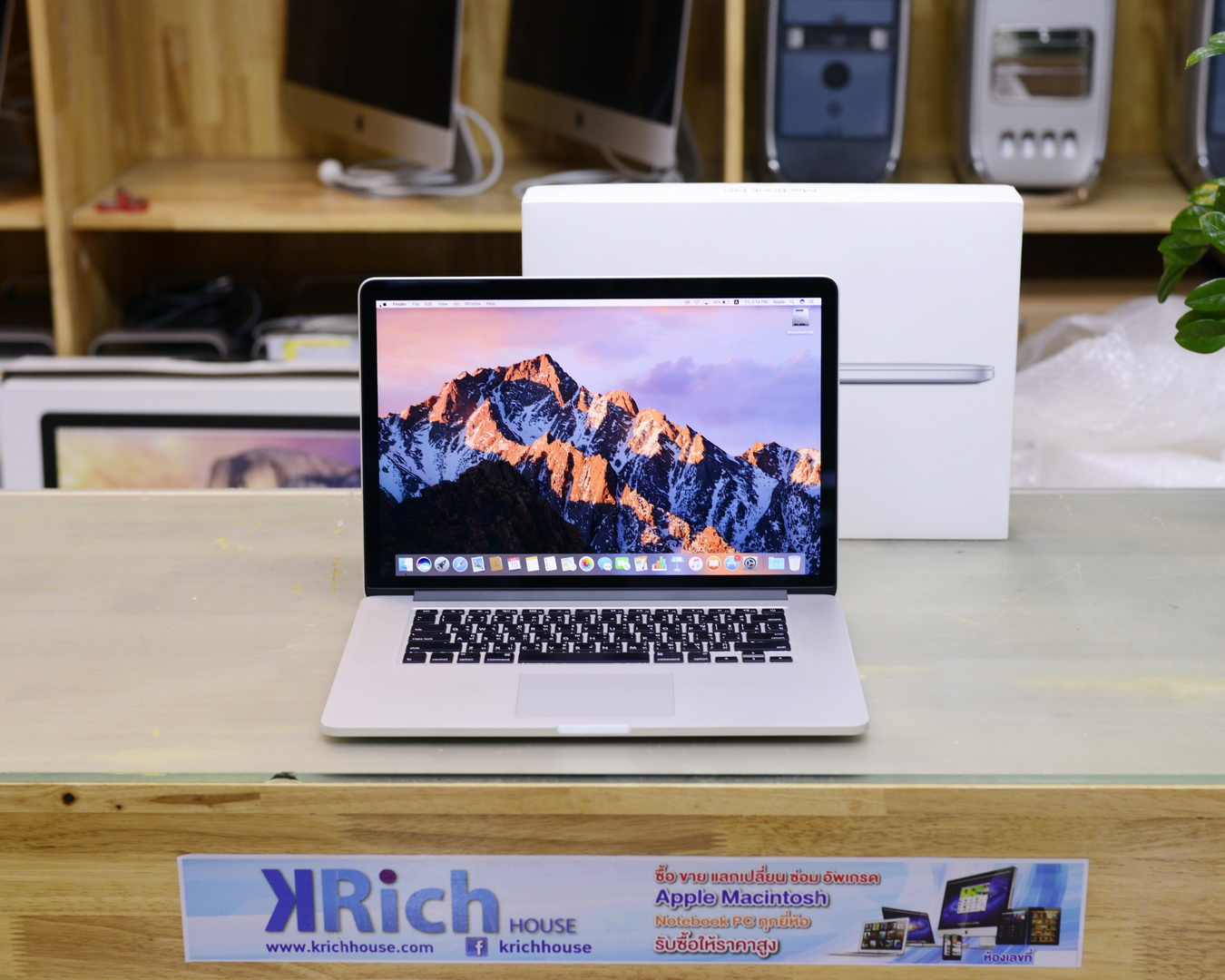 CTO - MacBook Pro (Retina 15-inch Late 2013) Quad-Core i7 2.6GHz RAM 16GB SSD 1TB GeForce GT 750M 2GB - Fullbox