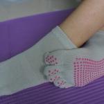 ถุงเท้าโยคะ YKA80-26P โปรโมชั่น 2 คู่ 499 บาท