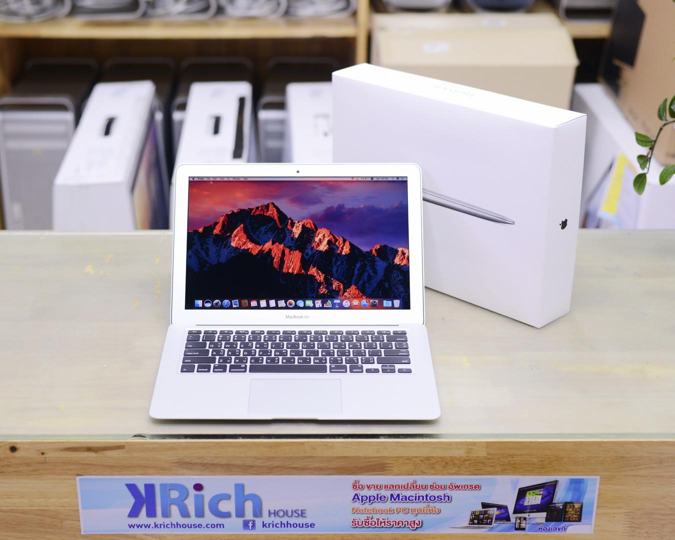 MacBook Air (13-inch, Mid 2017) - Core i5 1.8GHz RAM 8GB SSD 128GB Fullbox - Apple Warranty 13-12-2018