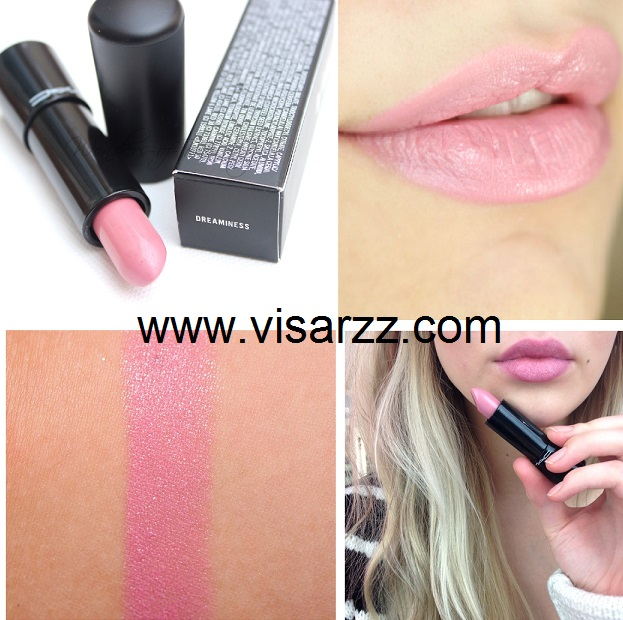 MAC Mineralize Rich Lipstick # Dreaminess 4.04 g (ขนาดปกติ) ลิปรุ่นใหม่ล่าสุดเนื้อละมุนชุ่มชื้น แท่งใหญ่กว่าเดิม
