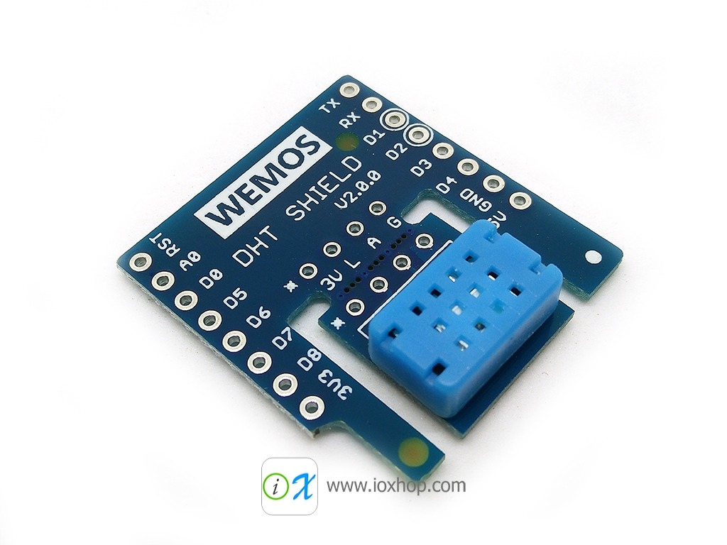 DHT Shield V2.0.0 for WeMos D1 mini DHT12 digital temperature and humidity sensor