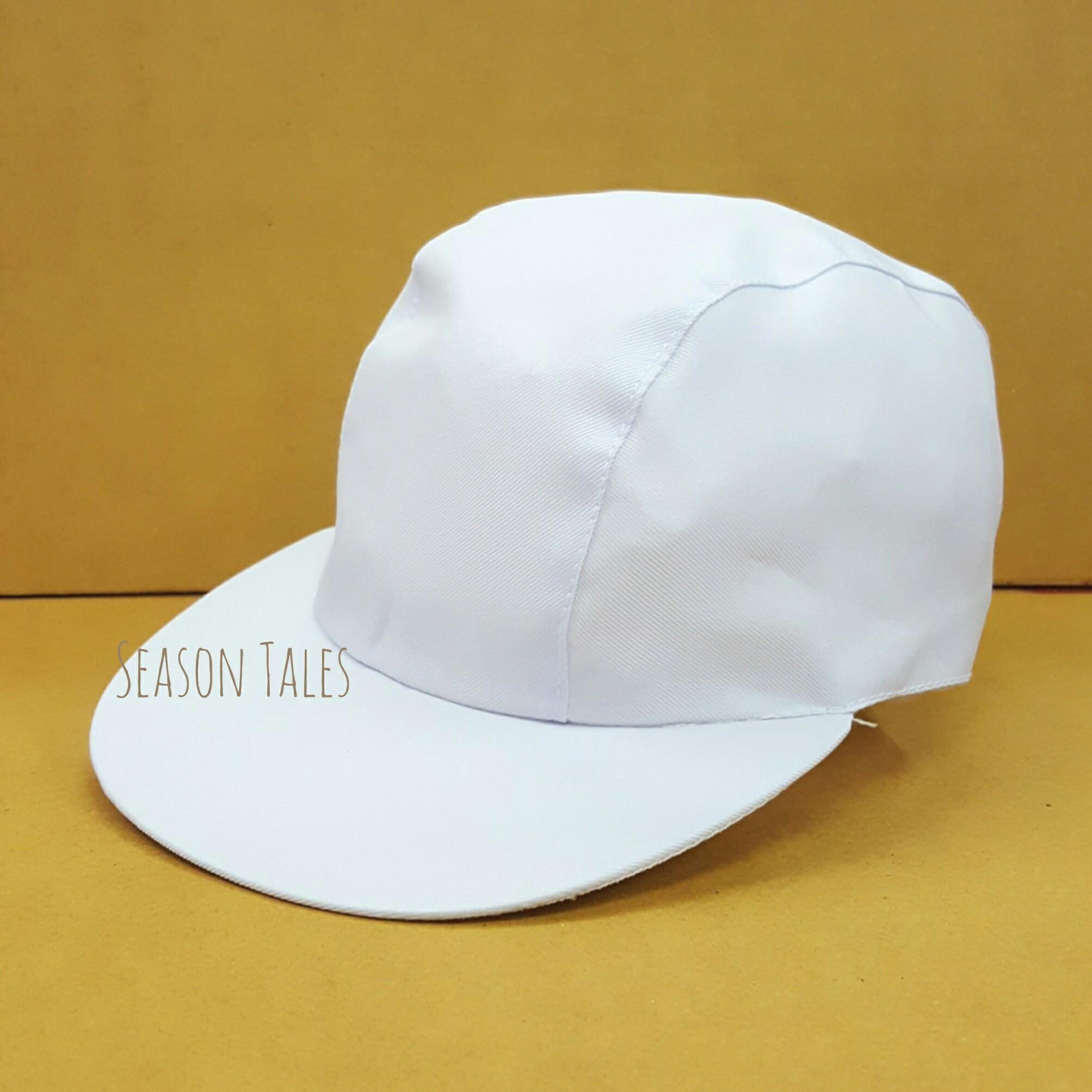 หมวกกีฬาสี หมวกแก๊ปกีฬาสี สีขาว (สั่งในเว็บไม่ได้ สั่งผ่านLine เท่านั้น)