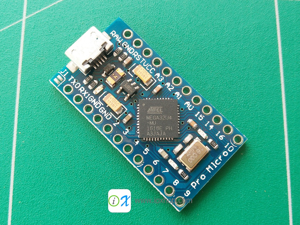 Arduino Pro Micro ATmega32U4 5V/16MHz No Cable (Compatible)