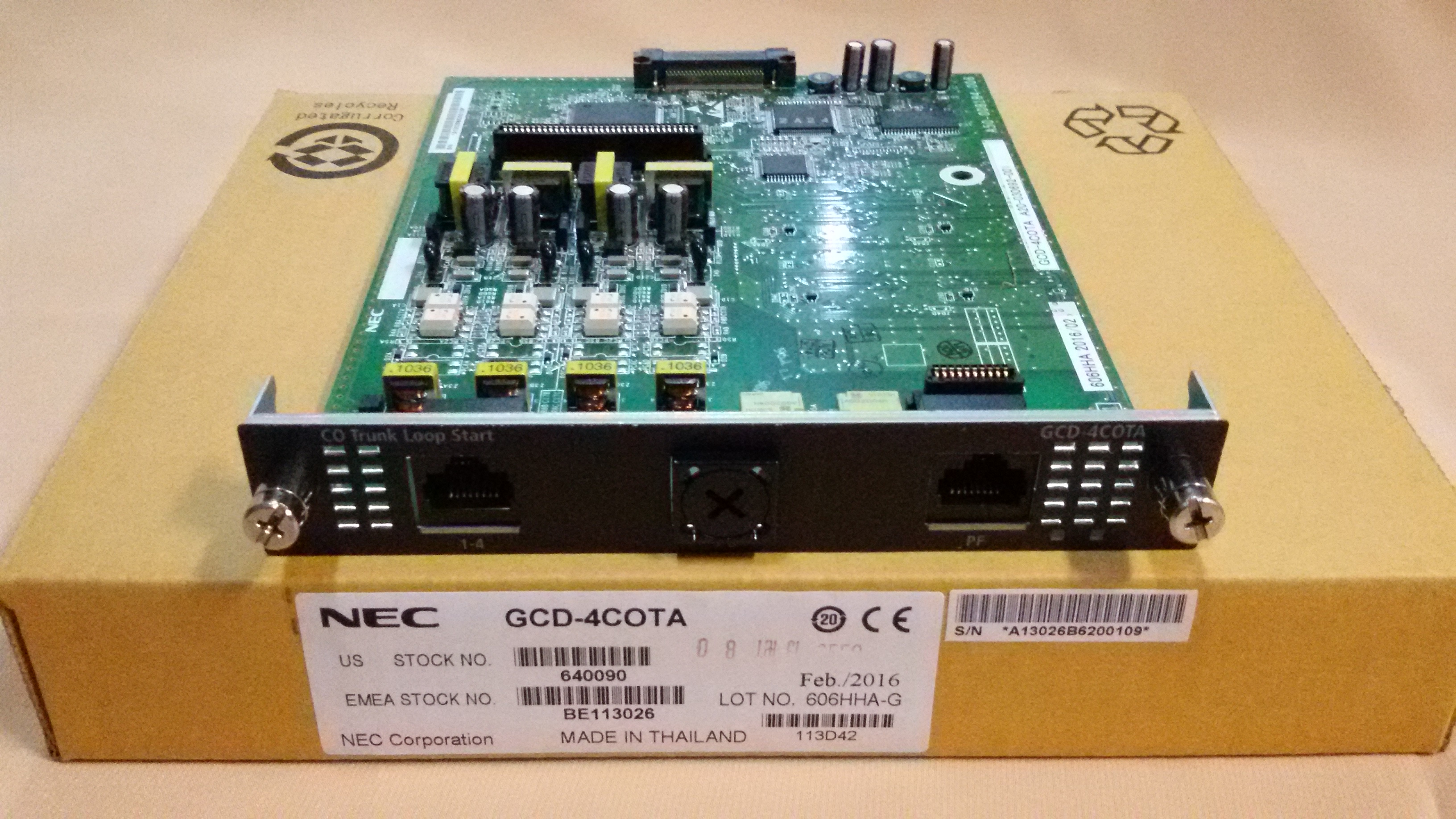 GCD-4COTA
