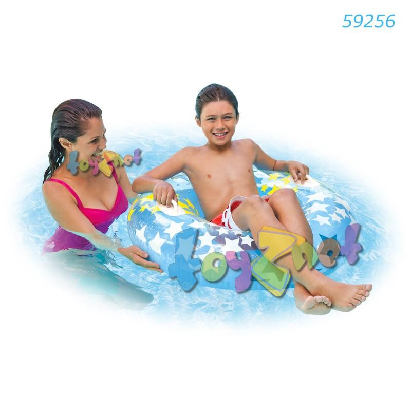 Intex ห่วงยางสตาร์เกซ 36 นิ้ว (91 ซม.) สีฟ้า รุ่น 59256