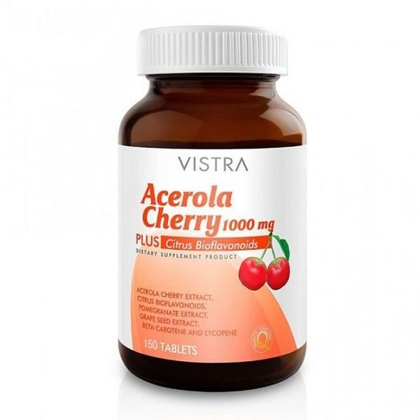 Vistra Acerola Cherry 1000 mg 150 เม็ด
