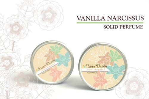Aromatic Solid Perfume Vanilla Narcissus น้ำหอมแห้งเนื้อบาล์ม แพดดี้แดดดี้ กลิ่นวานิลา นาร์ซิสสัส (กลิ่นคล้ายน้ำหอม Lancome poeme)