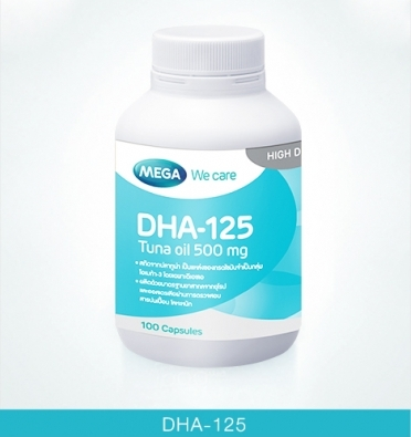 DHA-125 Tuna oil 100mg 100's