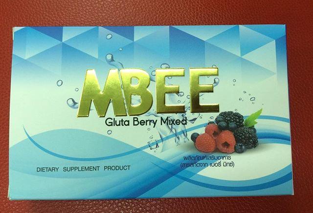 mbee gluta berry mixed (แพคเก็จใหม่)