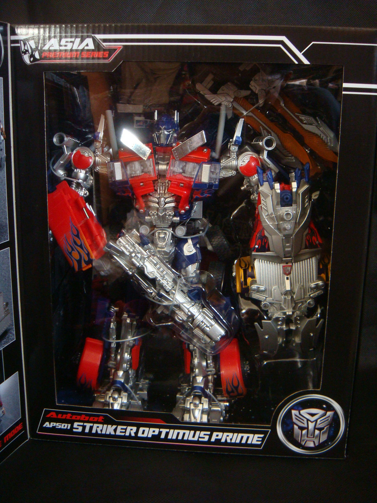 Transformers APS01 Strker Optimus Prime