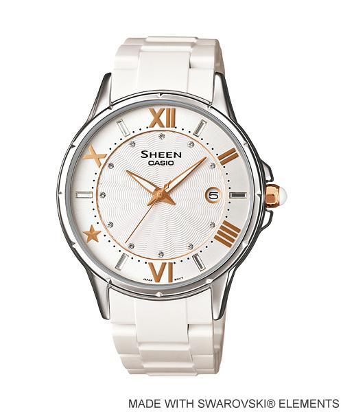 นาฬิกา คาสิโอ Casio SHEEN 3-HAND ANALOG รุ่น SHE-4024-7A
