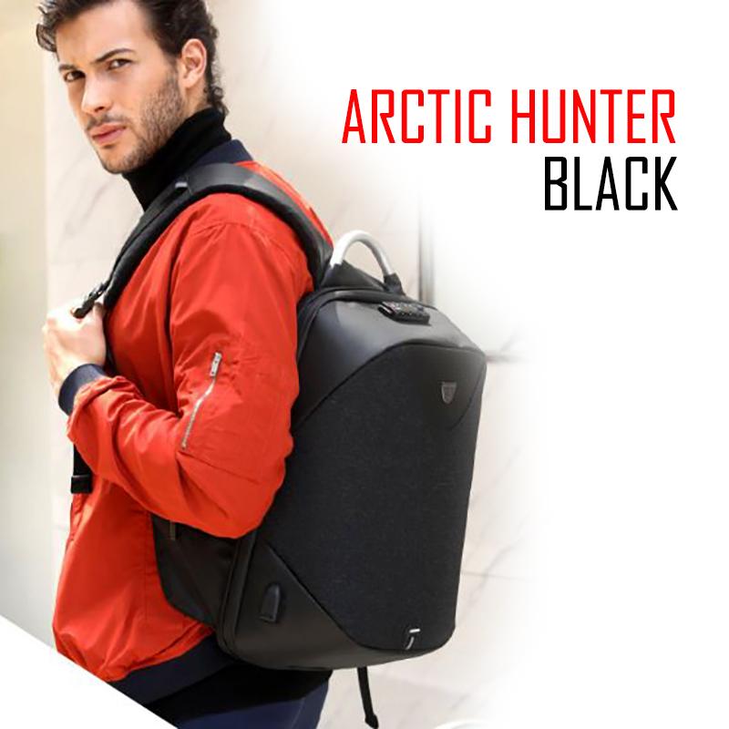กระเป๋าโน๊ตบุ๊ค ARCTIC HUNTER (BLACK)
