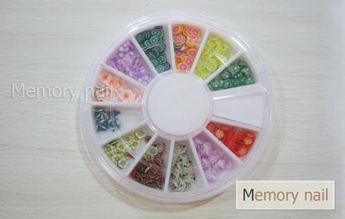 ฟีโม่ แบบกล่อง ลายผลไม้-ดอกไม้ Fimo-02