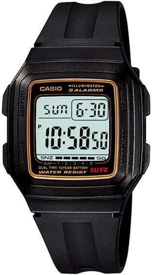 นาฬิกา คาสิโอ Casio 10 YEAR BATTERY รุ่น F-201WA-9A