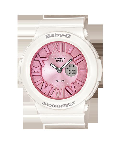 นาฬิกา คาสิโอ Casio Baby-G Neon Illuminator รุ่น BGA-161-7B2