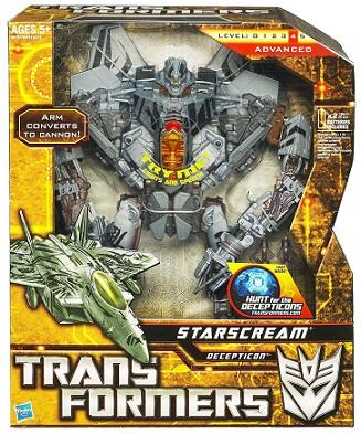 Transformers Leader Class Starscream ทรานฟอร์เมอร์