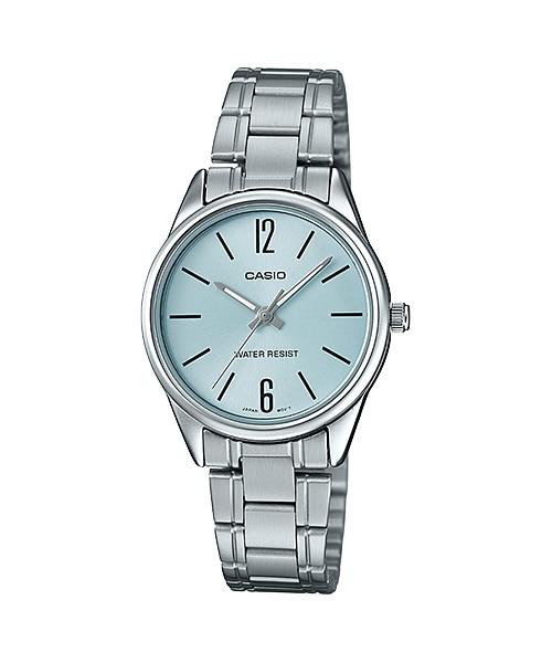 นาฬิกา Casio STANDARD Analog-Ladies' รุ่น LTP-V005D-2B ของแท้ รับประกัน 1 ปี