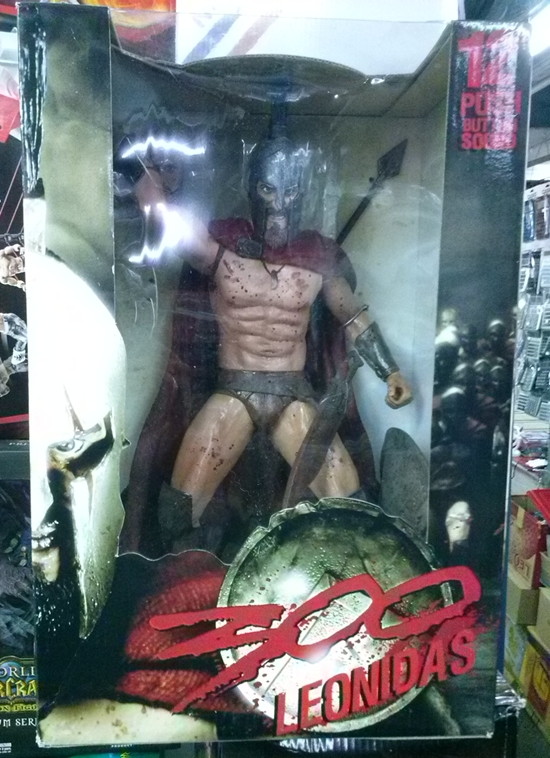 NECA 300: King Leonidas 12-Inch Action Figure With Sound