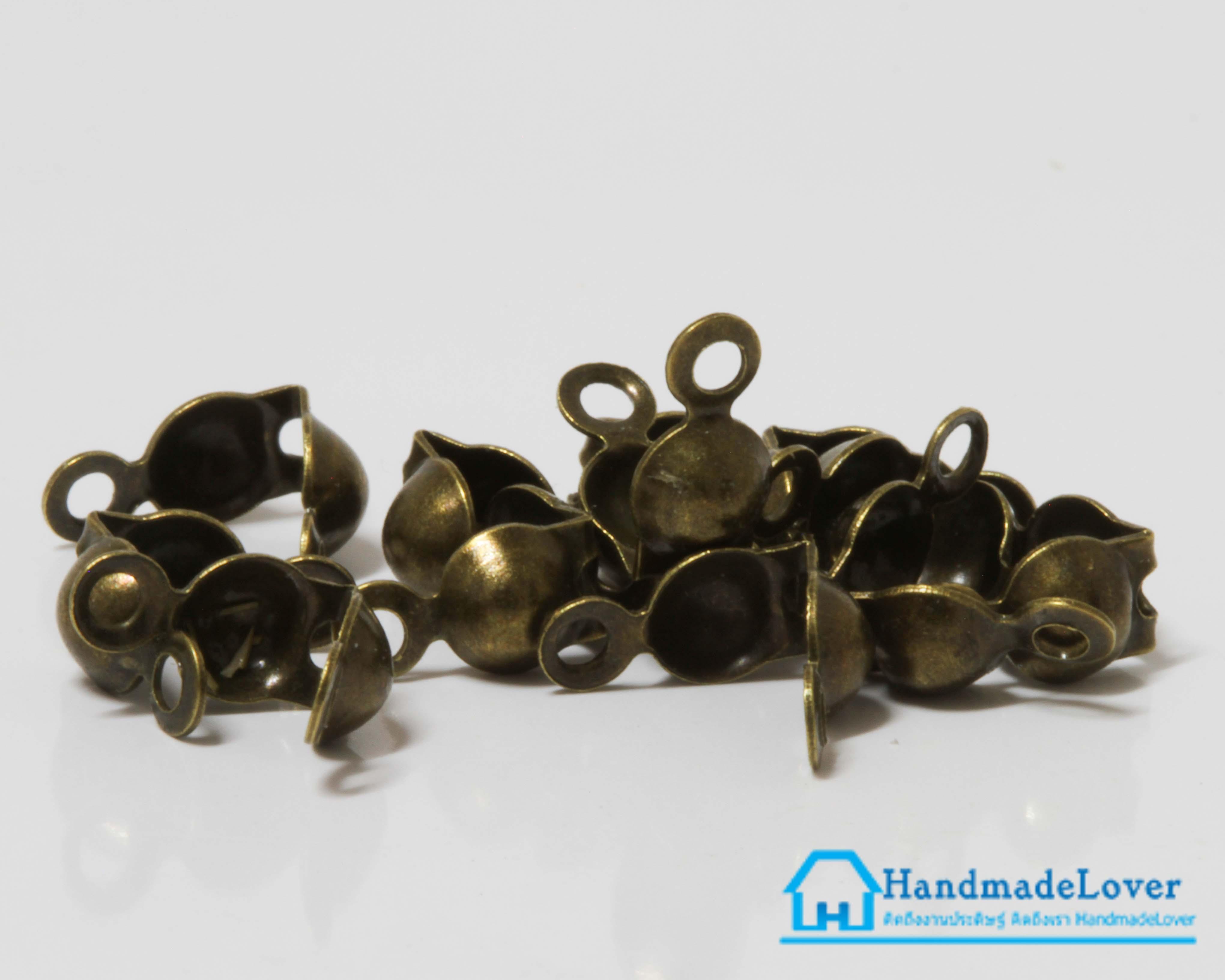 ตัวเก็บปม สีทองรมดำ (แพ็ค 50 ชิ้น )