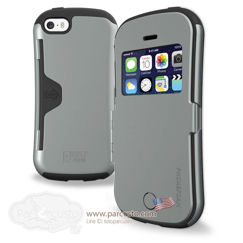 เคสกันกระแทก Apple iPhone 5 / 5s / SE (GOLF-VIEW) จาก Phonefoam [หมด]