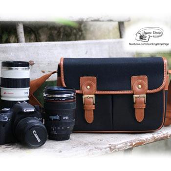 กระเป๋ากล้องแฟชั่นเกาหลี Smart Bag (ขนาดกลาง)