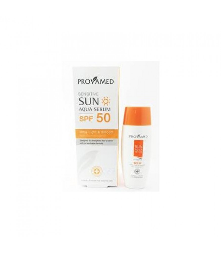 PROVAMED SENSITIVE SUN AQUA SERUM SPF50 40 ML.