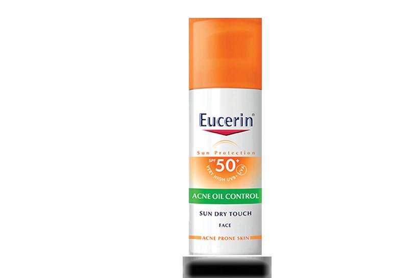 Eucerin Sun dry touch face - acne control spf50 50ml