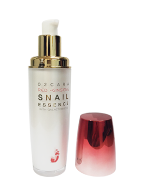 O2CARA RED GINSENG SNAIL SNAIL ESSENCE WITH GALACTOMYCES